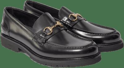 Le Club Black Polido Loafer-Vinny's