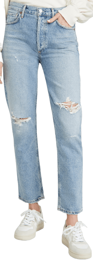 Moondust Charlotte High Rise Straight Jeans-Citizens of Humanity