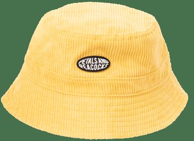 Mustard Corduroy Bucket Hat
