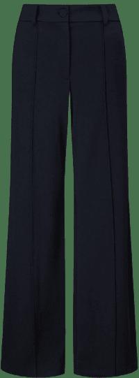 Navy Jigsaw Wide Trousers