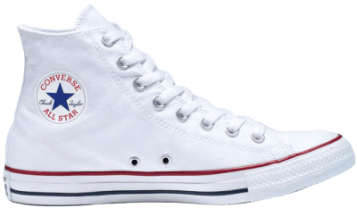 Optical White Chuck Taylor All Star Shoes-Converse