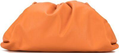 Orange The Pouch Bag-Bottega Veneta
