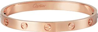 Pink Gold Love Bracelet-Cartier