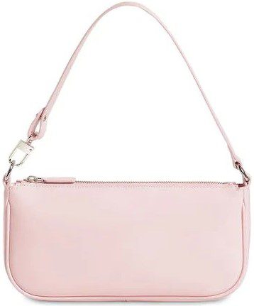 Pink Rachel Patent Leather Bag-By Far