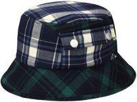 Plaid On Plaid Bucket Hat-Kangol