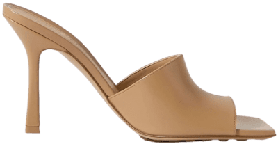 Sand Leather Mules-Bottega Veneta