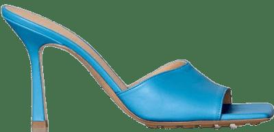 Sky Blue Stretch Sandals