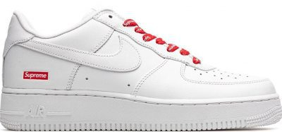 White Air Force 1 Sneakers-Nike X Supreme