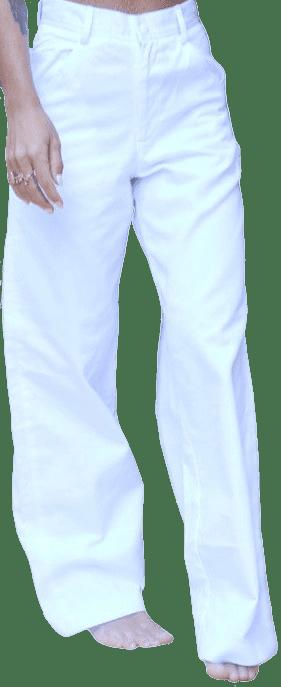 White Harlem River Drive Work Pants