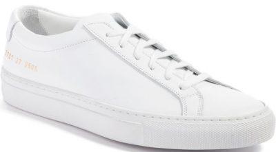 White Original Achilles Sneaker-Common Projects