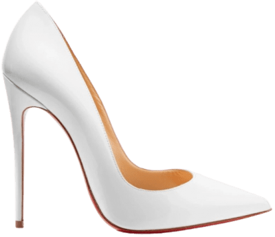 White So Kate Patent-Leather Pumps-Christian Louboutin