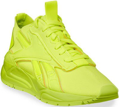 Yellow Bolton Sock VB Lace-Up Sneakers-Reebok X Victoria Beckham