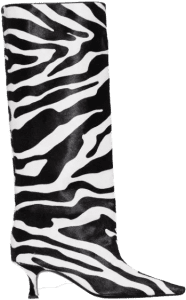 Zebra Print Boots
