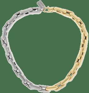 14-Karat Yellow And White Gold Necklace-Lauren Rubinski