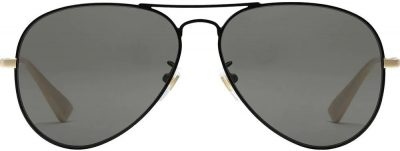 Black Aviator Sunglasses-Gucci