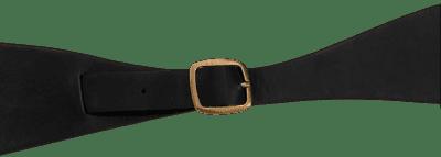 Black Cowhide Belt-Modus