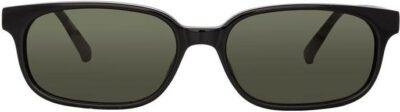 Black Gigi Rectangular Sunglasses-The Attico