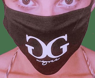Black Glow In The Dark Mask
