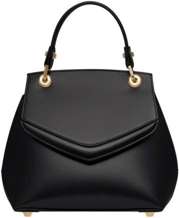 Black Love Letter Small Top Handle Bag-Grace Han