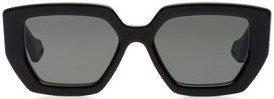 Black Oversized Square-Frame Sunglasses-Gucci