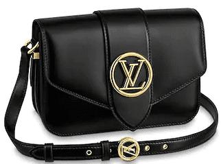 Black Pont 9 Shoulder Bag