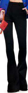 Black Pre-Fall 2021 Flare Pants-Versace