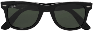 Black Wayfarer Square-Frame Acetate Sunglasses-Ray-Ban
