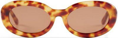 Caramel Tort The Estelle Sunglasses-Luv Lou
