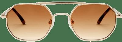 Gold Artesia Sunglasses-Vehla