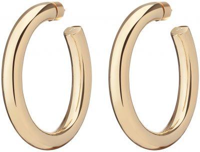 Gold Baby Kevin Hoop Earrings-Jennifer Fisher
