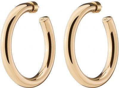 Gold Baby Samira Hoop Earrings