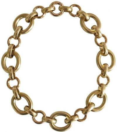 Gold Calle Necklace-Laura Lombardi