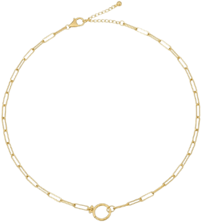 Gold Lockstep Necklace-Uncommon James