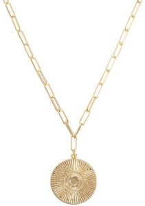 Gold Medallion Necklace-Uncommon James