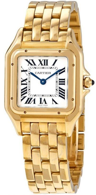 Gold Panthere de Medium Watch