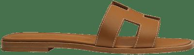 Gold Piqûres Écrues Oran Sandal-Hermes