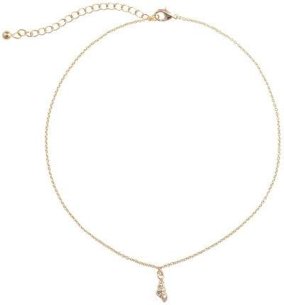 Gold Playa Shell Pendant Necklace-Uncommon James