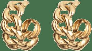 Gold Tara Hoops-Jennifer Behr