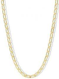 Gold The Corinne Chain Necklace-Argento Vivo