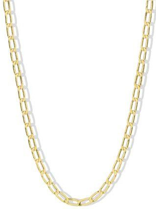Gold The Corinne Chain Necklace-Argento Vivo
