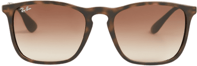 Gradient Brown Chris Square Sunglasses