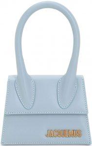 Light Blue Le Chiquito Leather Bag-Jacquemus