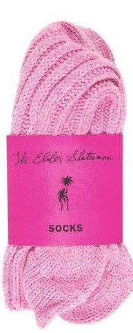 Light Pink Cashmere Socks-