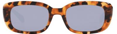 Mercury-Mirrored Milan Irregular Sunglasses