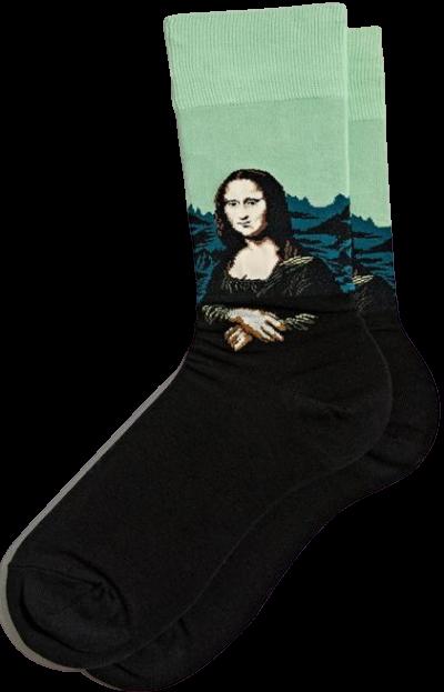 Mona Lisa Crew Sock-HOTSOX