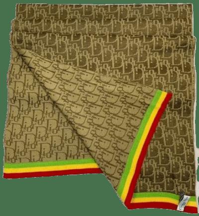 Monogram Rasta Scarf