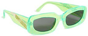 Neon Green Stevie Sunglasses-Poppy Lissiman