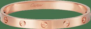 Pink Gold Love Bracelet