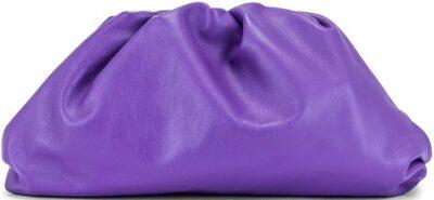 Purple The Pouch Clutch-Bottega Veneta