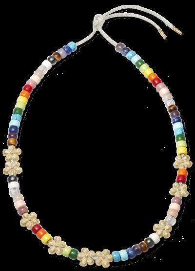 Rainbow Forte Beads Necklace